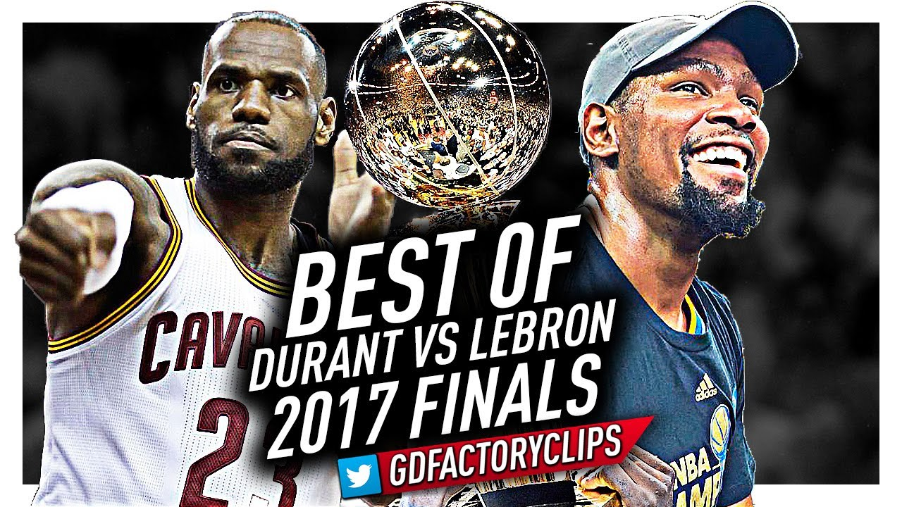 0e98e1f180b Best of LeBron James vs Kevin Durant EPIC DUEL Highlights from 2017 Finals!