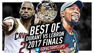 Best of LeBron James vs Kevin Durant EPIC DUEL Highlights from 2017 Finals!
