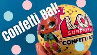 L.O.L. Surprise CONFETTI serie 3: SUPERBLIJ met het nieuwe poppetje!