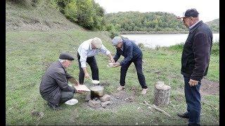 Старики на Макинском озере  Дагестан лезг