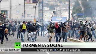 Ecuador: Se reactivan las protestas mientras arriban más indígenas a la capital
