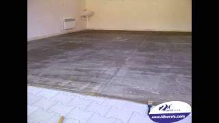 2M servis s.r.o. - epoxidovy nátěr podlahy garáže