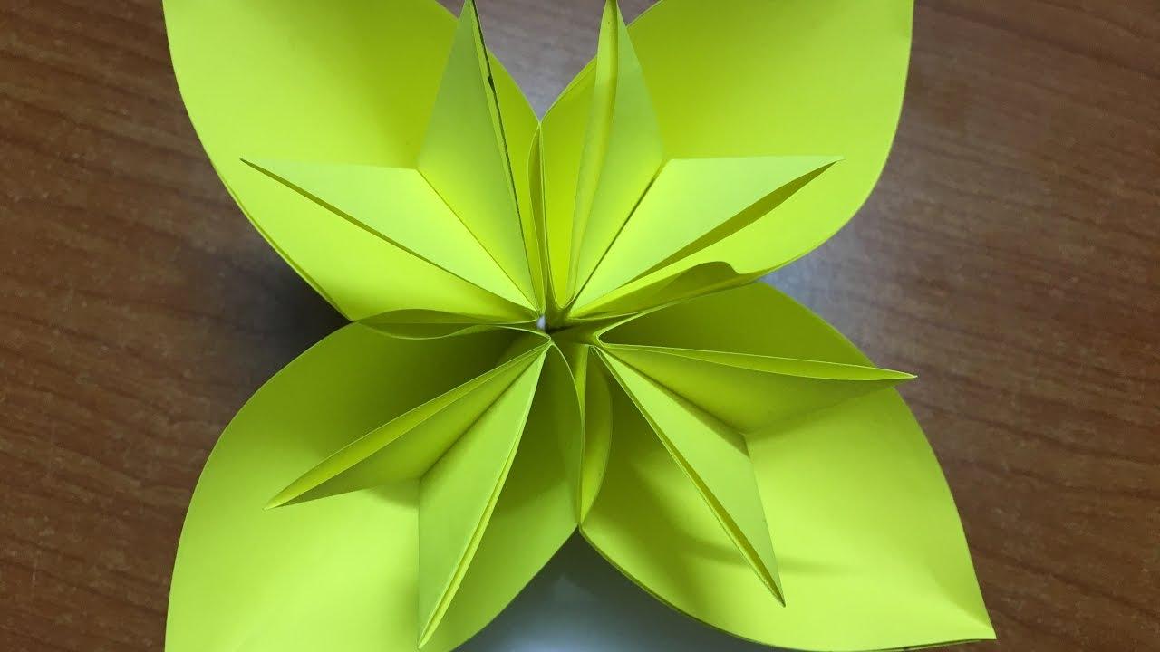 Easy origami kusudama flower choice image flower decoration ideas how to make origami kusudama flower diy easy flower paper youtube how to make origami kusudama mightylinksfo