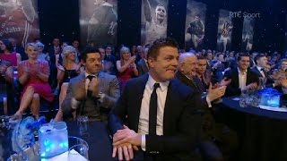 Brian O'Driscoll enters the RTÉ Sport Hall of Fame | RTÉ Sport Awards
