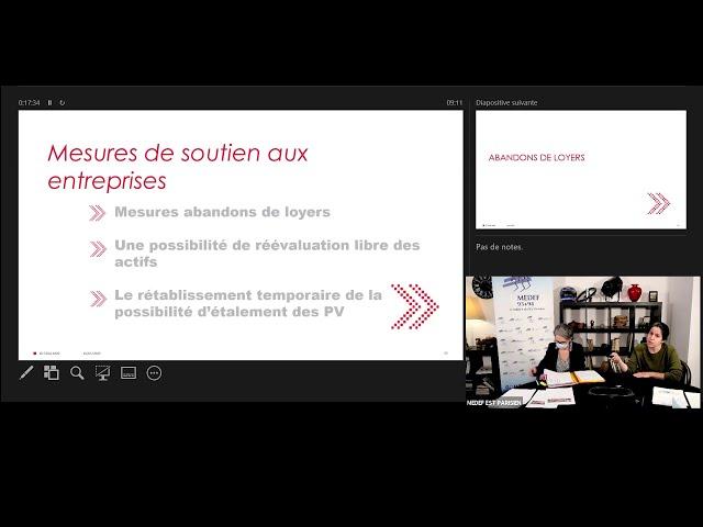 Webinaire : Loi de finances & loi de financement de la sécurité sociale 2021