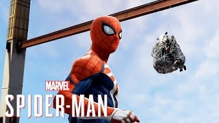Spider-Man PS4 - Avengers Battles,Web Swing Races & The Black Suit Is Secret For A Reason?
