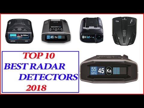 Best Radar Detectors 2018 - Top 10 Best Radar Detectors 2018