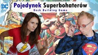 Pojedynek Superbohaterów DC | Gra karciana