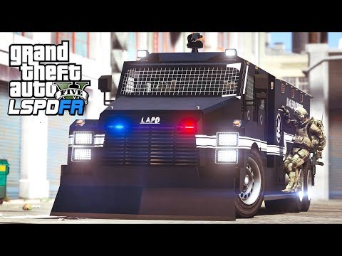 GTA 5 - LSPDFR Ep499 - NEW SWAT TEAM IN TOWN!!