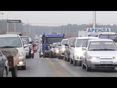 Шадринск - ловушка для водителей (2017-10-18)