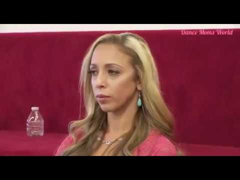 Dance moms  Elliana hits Lilly by accident and Abby yells at them