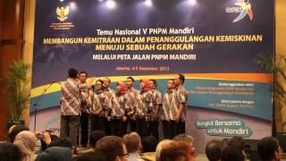 Mars PNPM vokal NMC Temu Nasional V PNPM Mandiri