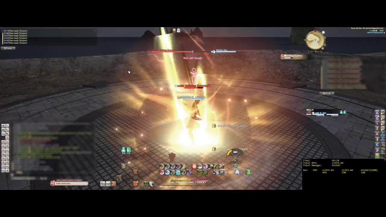 FFXIV:ShB - Dancer Full Rotation