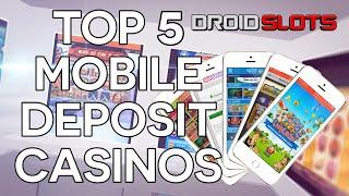 Top 5 Mobile Phone Bill Deposit Casinos