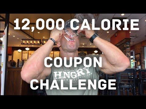 12,000 CALORIE COUPON CHALLENGE
