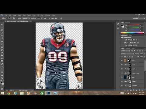 How to make a custom madden cover Tutorial- The FX