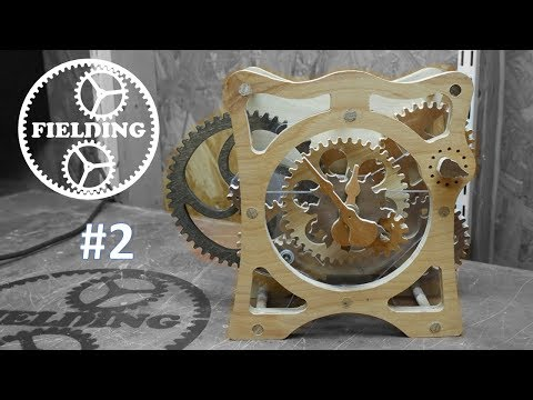 How To Make A Wooden Clock Part 3; Final Assembly: 048