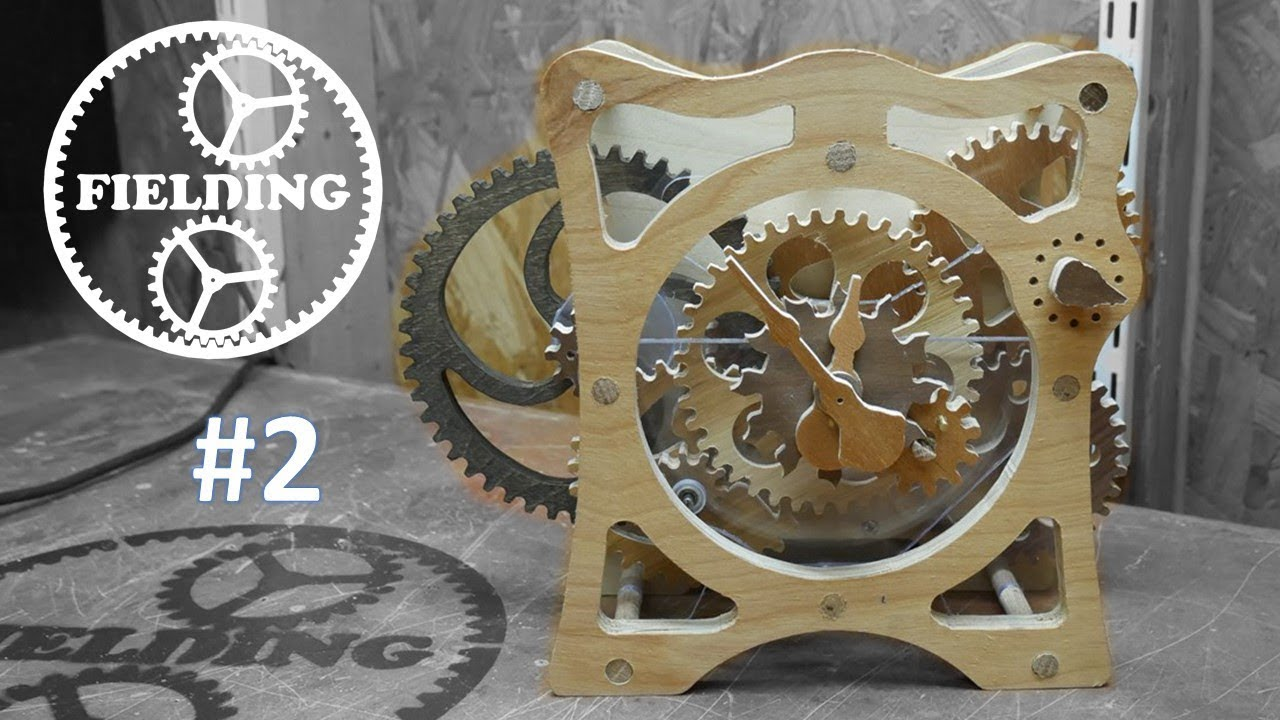 how to build a wooden clock