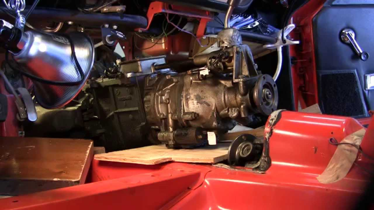 Triumph Spitfire transmission removal  YouTube
