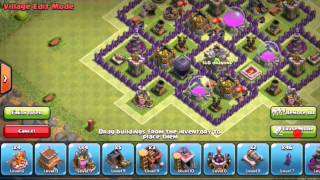 Clash of Clans-Maybe best TH8 Farming base :)
