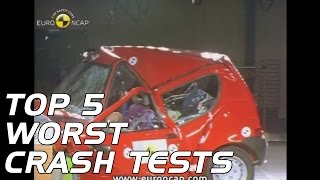 Top 5 Worst Crash Tests!