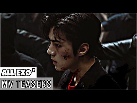 [BEE] TOP 9 EXO'MV TEASERS COMPILATION (OT12 - OT9) 🔥