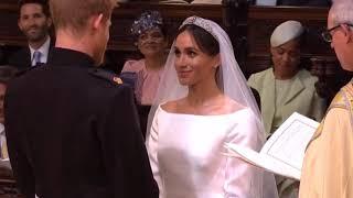 Fotos e vídeo casamento Príncipe Harry e Megan