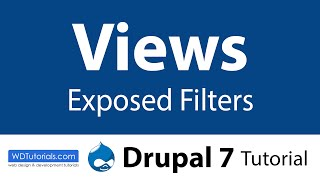 Views Exposed Filters (Drupal Tutorial)(, 2012-10-30T18:19:08.000Z)