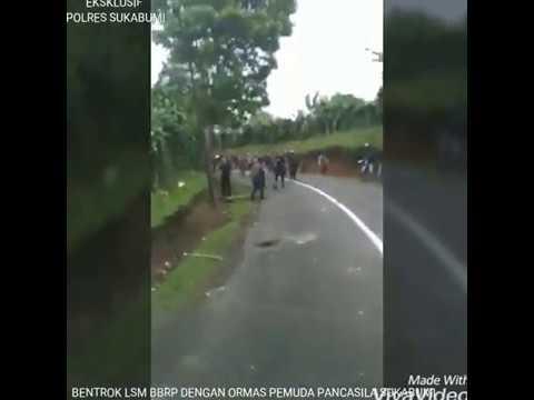 [Live] Tawuran ormas Pemuda Pancasila VS BBRP - Cibadak Sukabumi