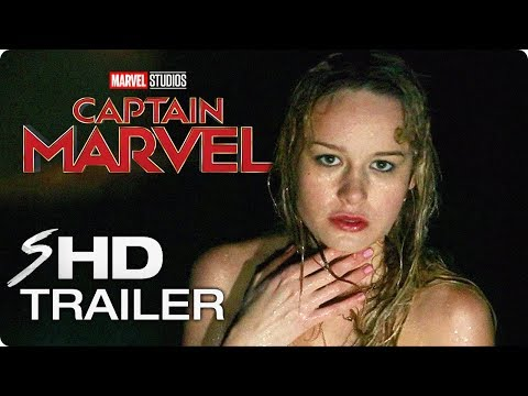 CAPTAIN MARVEL (2019) Exclusive First Look – Brie Larson Marvel Movie HD