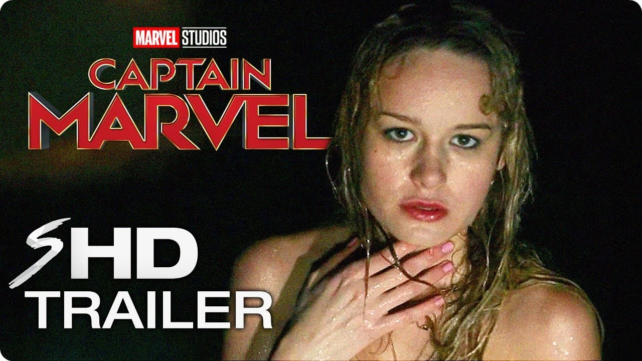 CAPTAIN MARVEL (2019) Official First Look - Brie Larson Marvel Movie HD