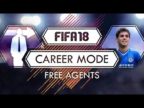 FIFA 18: Career Mode - All & Best Free Agents To Buy - Tutorial