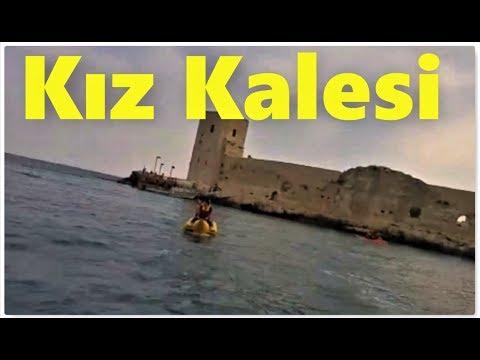 Mersin Kızkalesi'nde Deniz Muzu eğelencesi