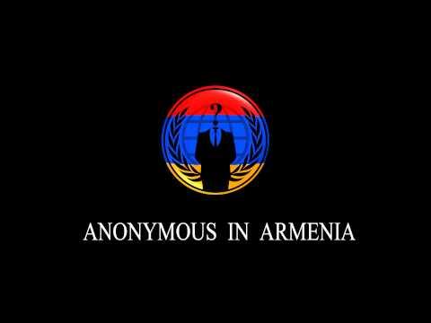 ANONYMOUS IN ARMENIA
