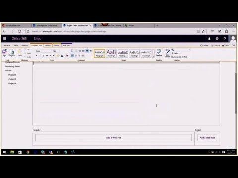 How to use Content Query Web Parts in SharePoint Online