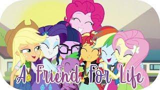 vuclip A Friend For Life (Twilight, Sunset & The Mane 5) | MLP: Equestria Girls | Friendship Games! [HD]