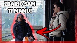 BARIO SAM TI SE S MAMOM (PUBLIC PRANK CALL) | Magic Leon & Svenky