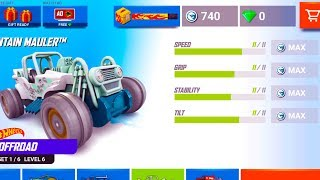 NEW UPDATE Hot Wheels: Race Off - MAXIM LEVEL UPGRADE #5 | Android Gameplay