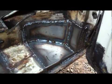 VW T25 Chassis & Body Repair - Part 23