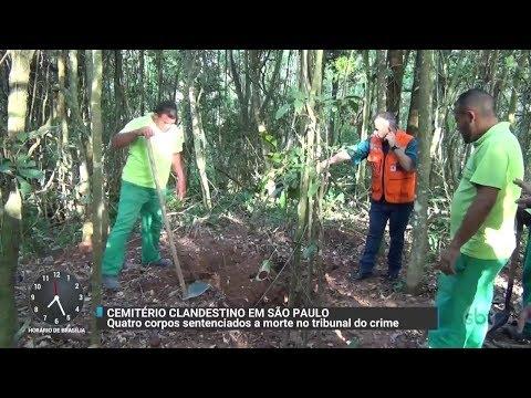 Polícia Civil encontra cemitério clandestino na Grande São Paulo | Primeiro Impacto (10/10/17)