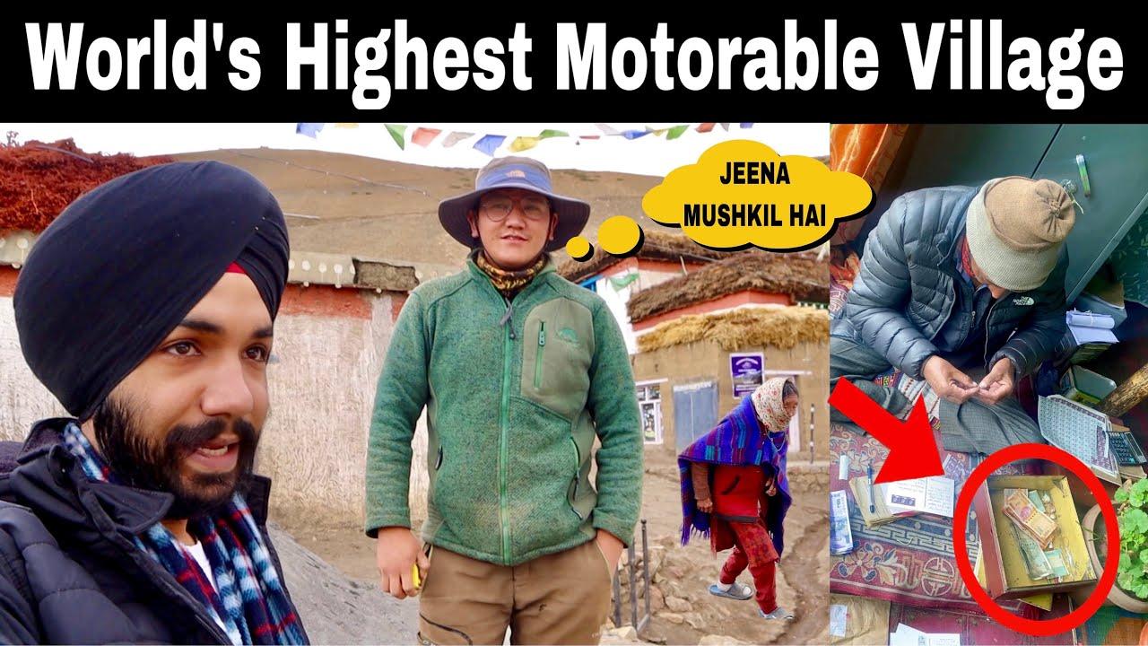 CHINA BORDER Ke Pas SURVIVAL hai Mushkil 😳....Must Watch 🙏🏻|| Explored KAZA || SPITI VALLEY EP-5