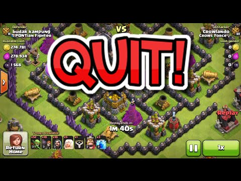 QUITTING MY JOB! | Clash Of Clans Plays