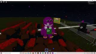 Playing Barney games in roblox... (Ft. ClassicSonicGamer) | ROBLOX MISADVENTURES