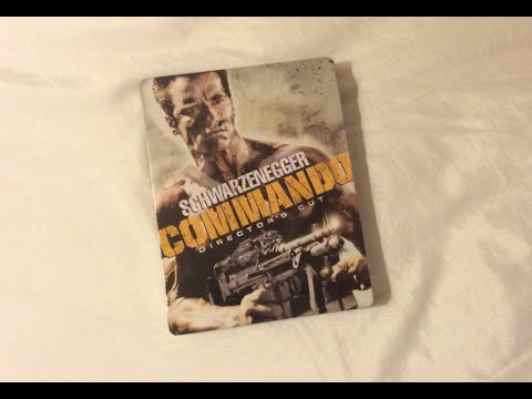Commando: Director's Cut MetalPak (1985) Blu Ray Review And Unboxing