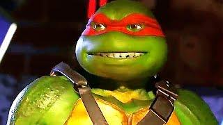 INJUSTICE 2 Ninja Turtles Gameplay Trailer (2017) PS4 / Xbox One / PC