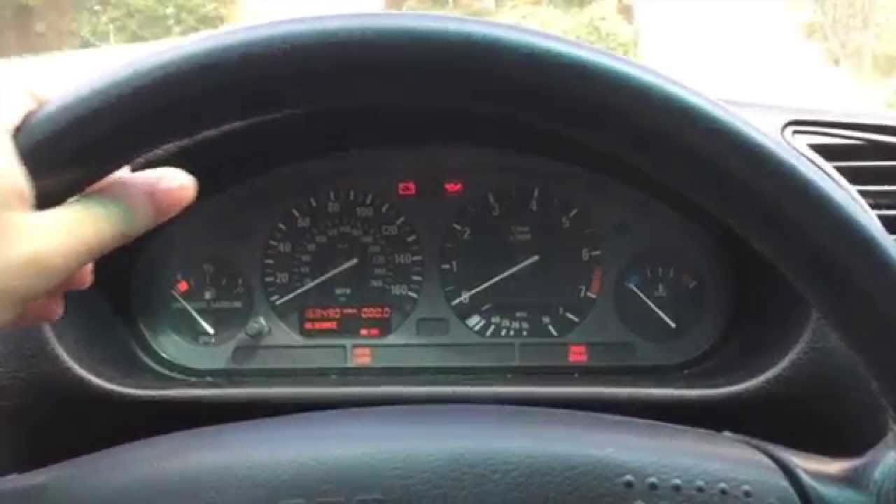 Bmw E36 Instrument Cluster Test Youtube