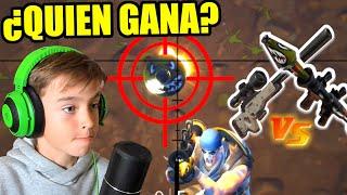 SNIPER VS RPG - QUIEN GANA EL DUELO - MODO ORO MACIZO