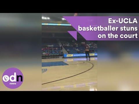 Ex-UCLA Basketballer Pulls Off Insane Series Of Trick Shots!