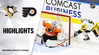 NHL Exhibition Highlights | Penguins @ Flyers 7/28/20