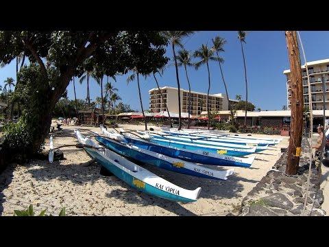 Ali'i Drive, Kailua Kona, Hawaii 4K